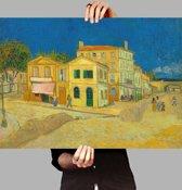 Poster Het gele huis - Vincent van Gogh