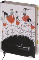 D1354-2 Dreamnotes notitieboek bloemen