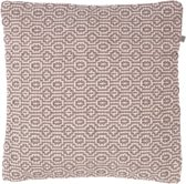 Dutch Decor Sierkussen Justina 45x45 cm taupe