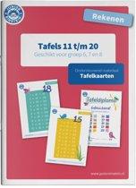 Tafels 11 t/m 20 rekenen geschikt voor groep 6, 7 en 8