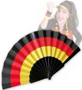 Waaier met de kleuren van de Duitse vlag