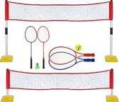 Outdoor-Play Tennis- en badmintonset