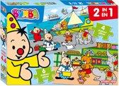 Bumba : 2 in 1 puzzle (4 & 6 pcs)