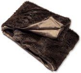 Unique Living Albury Bont Plaid Fake Fur - 130x160 cm