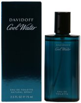 MULTI BUNDEL 2 stuks COOL WATER eau de toilette spray 75 ml