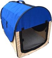 Topmast Nylon bench  Camper Blauw- Maat 1 - 46x36x41cm | stoffen bench | vouwbench | softbench