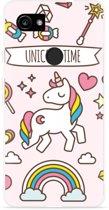 Pixel 2 XL Hoesje Unicorn Time