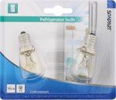Scanpart koelkastlamp 2-pack