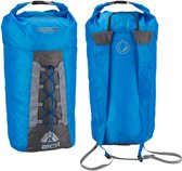 Abbey Compacte Rugzak All Weather - Bag in a Sac 20L - Blauw/Antraciet/Grijs