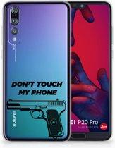 Huawei P20 Pro Uniek TPU Hoesje Pistol DTMP