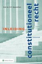 Boek cover Inleiding constitutioneel recht van P.P.T. BovendEert (Paperback)