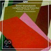 Shostakovich: Works for Piano Duo