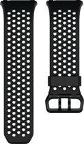 Fitbit Ionic Sport bandje - Zwart/Grijs - Small