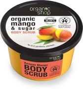 Organic Shop Body Scrub Kenyan Mango 250ml.