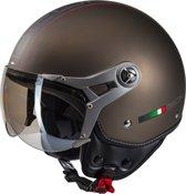 Beon Design Luxe - Bronze - Jethelm - Scooterhelm - Motorhelm - L / 58.5