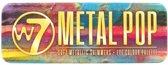 W7 Metallic Pop Eye Colour Palette