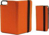 KSIX Sport Folio Case met Elastische band - iPhone 7 en 8 - Oranje