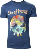 Sea of Thieves - Logo Men T-Shirt - Navy - M