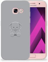 Samsung Galaxy A3 2017 TPU siliconen Hoesje Baby Olifant
