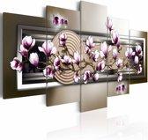 Schilderij - Magnolia en zen