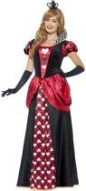 Hartenkoningin Alice in Wonderland Kostuum