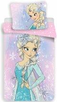 Disney Frozen Elsa - Dekbedovertrek - Eenpersoons - 140 x 200 cm - Multi