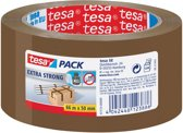 12x Tesa verpakkingsplakband Extra Strong, 50mmx66 m, PVC, bruin