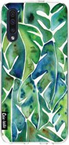 Casetastic Smartphone Hoesje Softcover Samsung Galaxy A50 (2019) - Green Philodendron