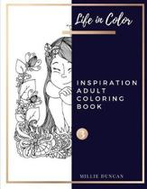 INSPIRATION ADULT COLORING BOOK (Book 3)