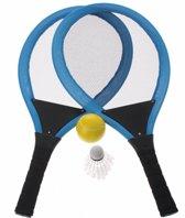 Eddy Toys Tennisset Blauw 55 Cm 4-delig