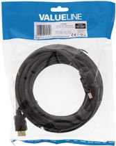 Valueline High Speed HDMI kabel met ethernet 5 m