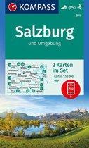 Kompass WK291 Salzburg und Umgebung
