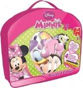 Jumbo Minnie Mouse Puzzel & Kleuren - 24 stukjes