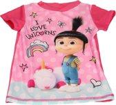 Minions Despicable Me Meisjes UV T-shirt – Maat 92/98 – Roze – UPF 40+ | Kleding met Zonbeschermende Stof | Kindershirts met Zonnebescherming | UV-werende Kleren