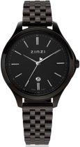 ZINZI Classy ZIW1037 34mm zwart + gratis Zinzi armbandje