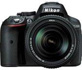 Nikon D5300 zwart + 18-140mm VR