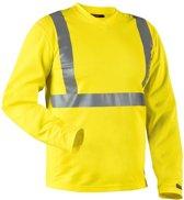 Blåkläder 3383-1011 T-shirt lange mouw High Vis Geel maat L