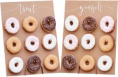 Donut wall Kraft Treat Yourself (2 stuks)