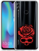 Huawei Honor 10 Lite Hoesje Red Skull