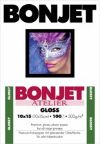 Bonjet Atelier glans 10x15 cm 300 g 100 Vel