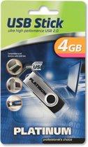 Bestmedia HighSpeed USB Stick Twister 4 GB 4GB USB 2.0 Zilver USB flash drive