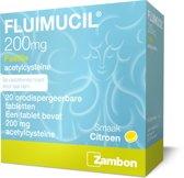 Fluimucil 200 mg -  20 Pastilles - Keelpastilles