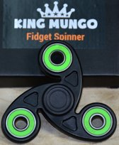 Fidget Spinner Keramische ABEC Lagers | Zwart | KMFS018