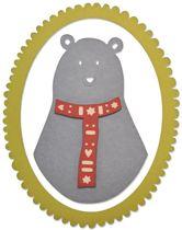 Sizzix Thinlits 5 Pcs, Loving Bear by Craft Asylum