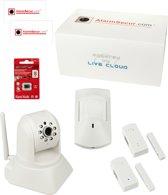 AlarmSecur.com Compleet alarmsysteem + HD camera