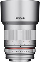 Samyang 50mm F1.2 AS UMC CS MILC Standaardlens Zilver