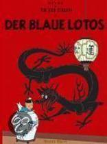 Kuifje vreemdtalig De blauwe lotus (Duits)
