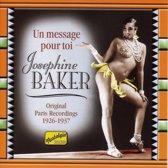 Baker Jos.:Un Message Pour Toi
