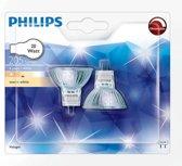 Philips halogeenspot GU4 20W dim 2 stuks P588680