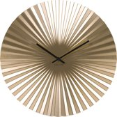 Karlsson Klok Wall clock Sensu steel gold